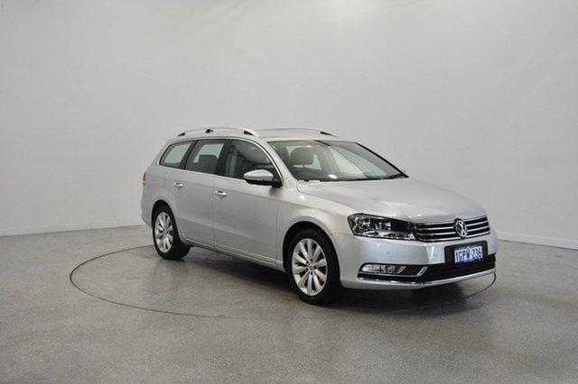 Used Volkswagen Passat Type 3C MY15 118TSI DSG, 2014 Volkswagen Passat Type 3C MY15 118TSI DSG Silver 7 Speed Sports Automatic Dual Clutch Wagon