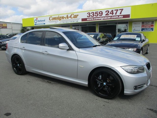 Used BMW 335i E90 MY10.5 M Sport Steptronic, 2010 BMW 335i E90 MY10.5 M Sport Steptronic Silver 6 Speed Sports Automatic Sedan