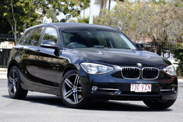 Used BMW 118i F20 , 2012 BMW 118i F20 Black 8 Speed Sports Automatic Hatchback