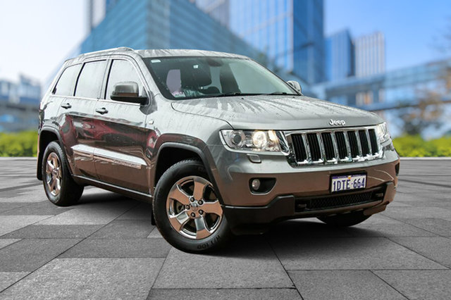Used Jeep Grand Cherokee WK MY2011 Laredo, 2011 Jeep Grand Cherokee WK MY2011 Laredo Grey 5 Speed Sports Automatic Wagon