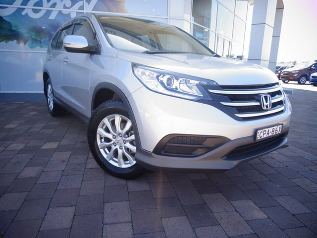 Used Honda CR-V RM MY14 VTi, 2013 Honda CR-V RM MY14 VTi Alabaster Silver 5 Speed Automatic SUV
