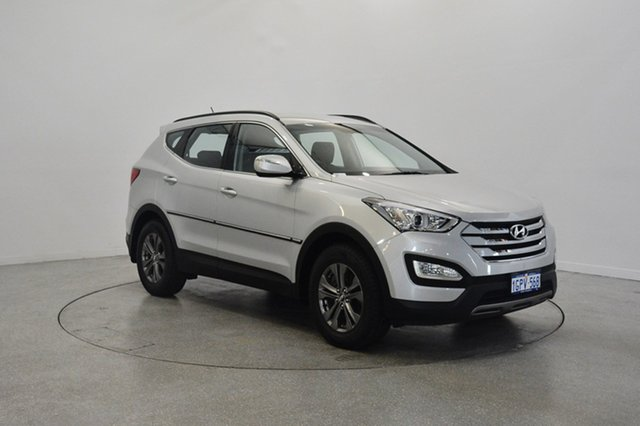 Used Hyundai Santa Fe DM MY13 Active, 2012 Hyundai Santa Fe DM MY13 Active Silver 6 Speed Sports Automatic Wagon