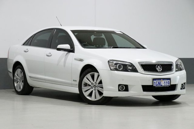 Used Holden Caprice WM MY09.5 , 2009 Holden Caprice WM MY09.5 White 6 Speed Auto Active Sequential Sedan