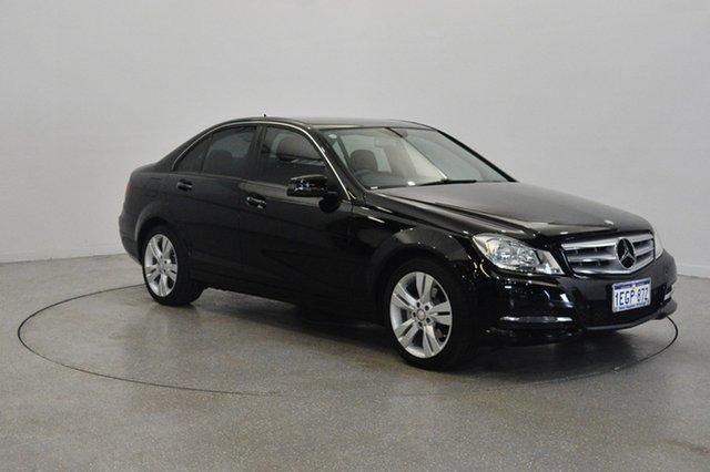 Used Mercedes-Benz C200 W204 MY13 7G-Tronic +, 2013 Mercedes-Benz C200 W204 MY13 7G-Tronic + Black 7 Speed Sports Automatic Sedan