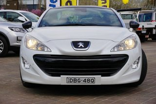 2011 Peugeot RCZ 200th Anniversary White 6 Speed Manual Coupe.