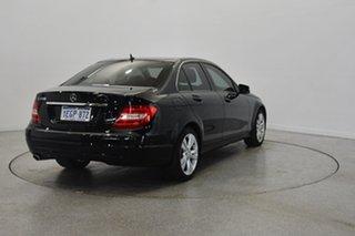 2013 Mercedes-Benz C200 W204 MY13 7G-Tronic + Black 7 Speed Sports Automatic Sedan.