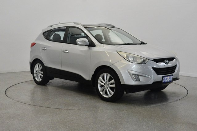 Used Hyundai ix35 LM MY11 Highlander AWD, 2010 Hyundai ix35 LM MY11 Highlander AWD White 6 Speed Sports Automatic Wagon