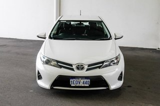 2014 Toyota Corolla ZRE182R Ascent S-CVT Glacier White 7 Speed Constant Variable Hatchback.