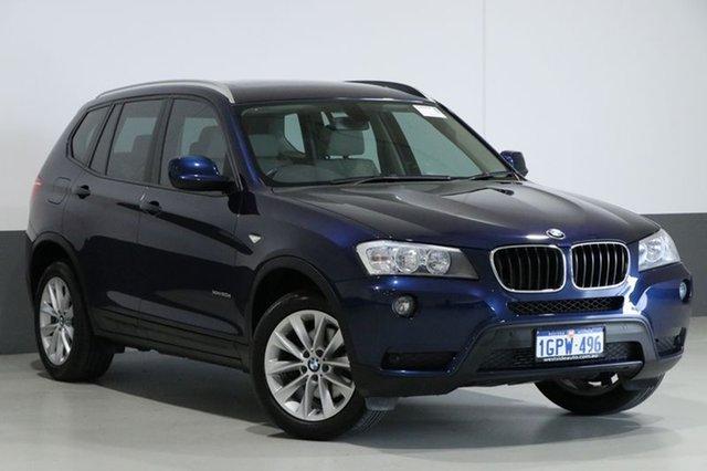 Used BMW X3 F25 MY13 xDrive 20D, 2013 BMW X3 F25 MY13 xDrive 20D Deep Sea Blue 8 Speed Automatic Wagon