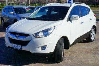 2012 Hyundai ix35 LM2 Elite White 6 Speed Sports Automatic Wagon.