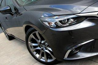 2017 Mazda 6 GL1031 GT SKYACTIV-Drive Machine Grey 6 Speed Sports Automatic Sedan.
