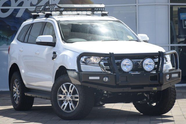 New Ford Everest UA MY18 Trend 4WD, 2018 Ford Everest UA MY18 Trend 4WD Arctic White 6 Speed Sports Automatic SUV