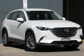 2018 Mazda CX-9 TC Touring SKYACTIV-Drive Snowflake White 6 Speed Sports Automatic Wagon.