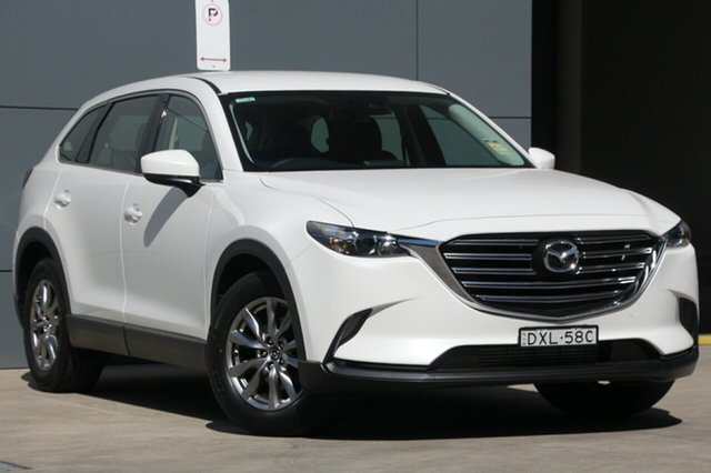 Demo Mazda CX-9 TC Touring SKYACTIV-Drive, 2018 Mazda CX-9 TC Touring SKYACTIV-Drive Snowflake White 6 Speed Sports Automatic Wagon