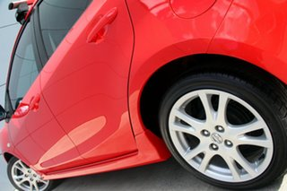 2009 Mazda 2 DE10Y1 Genki True Red 4 Speed Automatic Hatchback