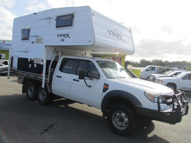 Used Ford Ranger PK , 2010 PK SLIDE ON CAMPER Ford Ranger White Motor Camper
