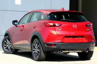 2018 Mazda CX-3 DK4W7A sTouring SKYACTIV-Drive i-ACTIV AWD Soul Red 6 Speed Sports Automatic Wagon.