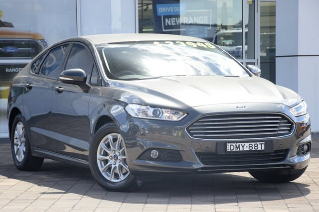 Used Ford Mondeo MD Ambiente PwrShift, 2016 Ford Mondeo MD Ambiente PwrShift Magnetic 6 Speed Sports Automatic Dual Clutch Hatchback