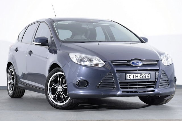 Used Ford Focus LW Ambiente, 2012 Ford Focus LW Ambiente Midnight Sky 5 Speed Manual Hatchback