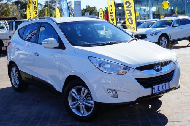 Used Hyundai ix35 LM2 Elite, 2012 Hyundai ix35 LM2 Elite White 6 Speed Sports Automatic Wagon