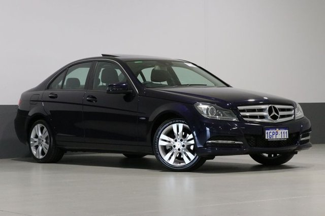Used Mercedes-Benz C200 W204 MY11 CDI BE, 2011 Mercedes-Benz C200 W204 MY11 CDI BE Blue 7 Speed Automatic G-Tronic Sedan
