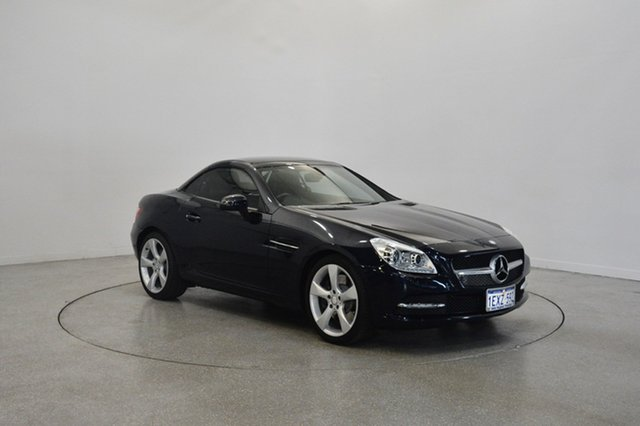 Used Mercedes-Benz SLK350 R172 BlueEFFICIENCY 7G-Tronic +, 2011 Mercedes-Benz SLK350 R172 BlueEFFICIENCY 7G-Tronic + Blue 7 Speed Sports Automatic Roadster