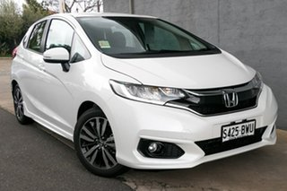 2018 Honda Jazz GF MY18 VTi-L White Orchid 1 Speed Constant Variable Hatchback.