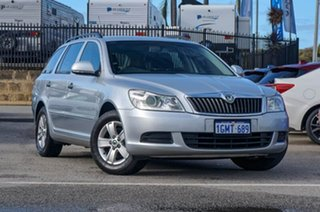 2009 Skoda Octavia 1Z Ambiente DSG Billet Silver 6 Speed Sports Automatic Dual Clutch Wagon.