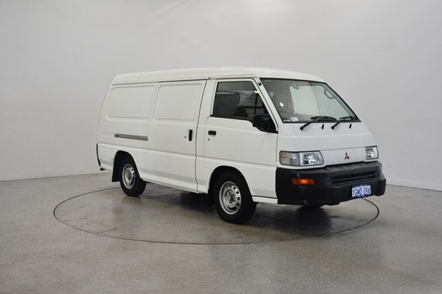 Used Mitsubishi Express SJ M07 MWB, 2008 Mitsubishi Express SJ M07 MWB White 5 Speed Manual Van