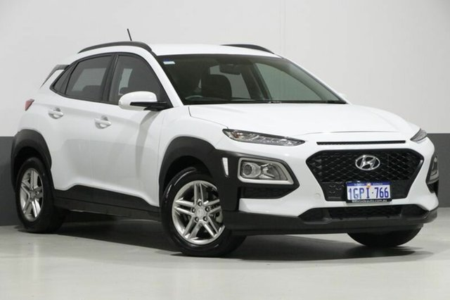 Used Hyundai Kona OS Active (FWD), 2017 Hyundai Kona OS Active (FWD) White 6 Speed Automatic Wagon