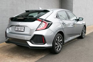 2017 Honda Civic 10th Gen MY17 VTi-S Lunar Silver 1 Speed Constant Variable Hatchback