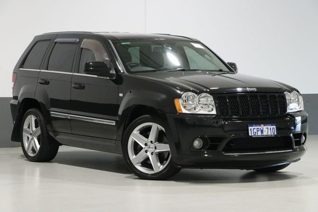 Used Jeep Grand Cherokee WH SRT 8, 2007 Jeep Grand Cherokee WH SRT 8 Black 5 Speed Automatic Wagon