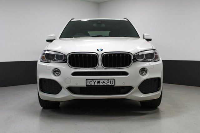 Used BMW X5 F15 sDrive25d, 2015 BMW X5 F15 sDrive25d White 8 Speed Automatic Wagon