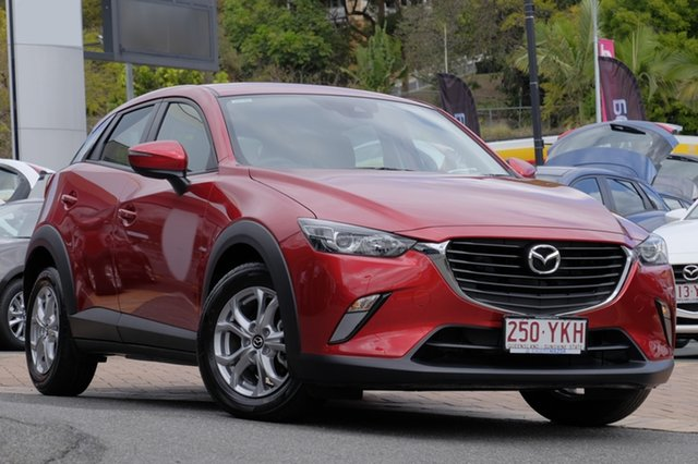 Demo Mazda CX-3 DK2W76 Maxx SKYACTIV-MT, 2018 Mazda CX-3 DK2W76 Maxx SKYACTIV-MT Soul Red 6 Speed Manual Wagon