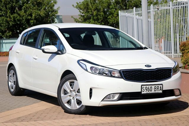 Used Kia Cerato YD MY18 S, 2017 Kia Cerato YD MY18 S White 6 Speed Sports Automatic Hatchback