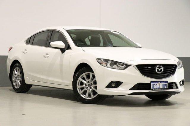 Used Mazda 6 6C MY15 Sport, 2015 Mazda 6 6C MY15 Sport White 6 Speed Automatic Sedan