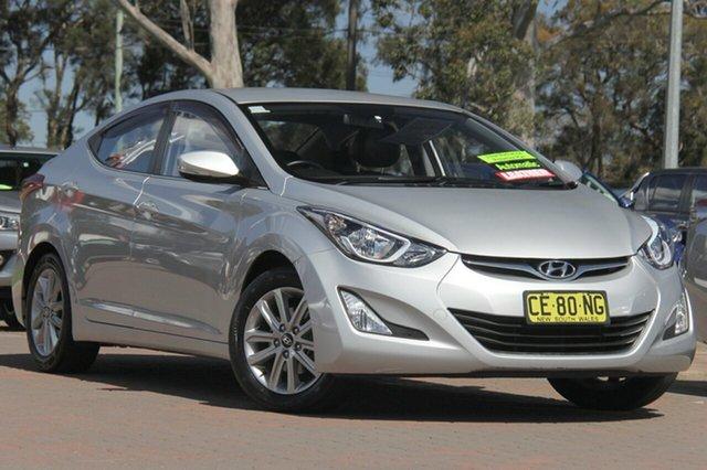 Used Hyundai Elantra MD3 SE, 2014 Hyundai Elantra MD3 SE Silver 6 Speed Sports Automatic Sedan