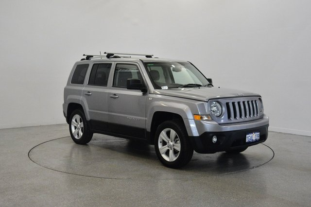 Used Jeep Patriot MK MY16 Limited, 2016 Jeep Patriot MK MY16 Limited Grey 6 Speed Sports Automatic Wagon