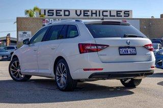 2018 Skoda Superb NP MY18.5 162TSI DSG Moon White 6 Speed Sports Automatic Dual Clutch Wagon.