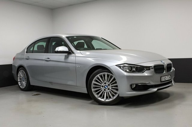 Used BMW 328i F30 , 2011 BMW 328i F30 Glacier Silver 8 Speed Sports Automatic Sedan