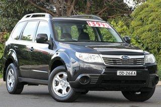 2008 Subaru Forester S3 MY09 X AWD Obsidian Black 4 Speed Sports Automatic Wagon.