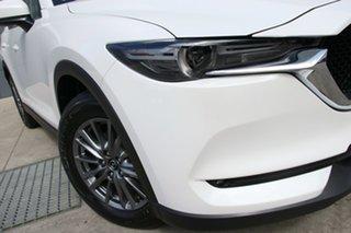 2018 Mazda CX-5 KF2W7A Maxx SKYACTIV-Drive FWD Sport Snowflake White 6 Speed Sports Automatic Wagon.