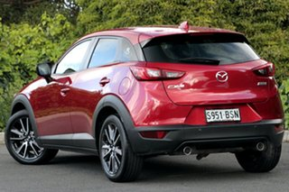 2017 Mazda CX-3 DK2W7A sTouring SKYACTIV-Drive Soul Red Crystal 6 Speed Sports Automatic Wagon.