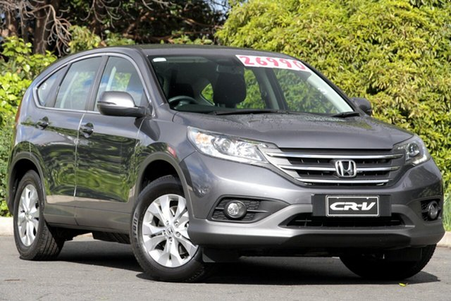 Used Honda CR-V RM MY14 DTi-S 4WD, 2014 Honda CR-V RM MY14 DTi-S 4WD Polished Metal 5 Speed Automatic Wagon
