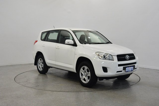 Used Toyota RAV4 ACA38R MY11 CV 4x2, 2011 Toyota RAV4 ACA38R MY11 CV 4x2 White 4 Speed Automatic Wagon