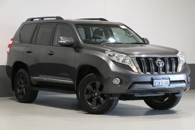 Used Toyota Landcruiser Prado KDJ150R MY15 Altitude (4x4), 2015 Toyota Landcruiser Prado KDJ150R MY15 Altitude (4x4) Grey 5 Speed Sequential Auto Wagon