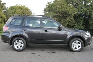 2008 Subaru Forester S3 MY09 X AWD Obsidian Black 4 Speed Sports Automatic Wagon