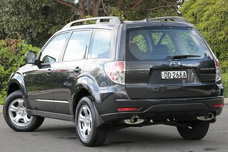 2008 Subaru Forester S3 MY09 X AWD Obsidian Black 4 Speed Sports Automatic Wagon.