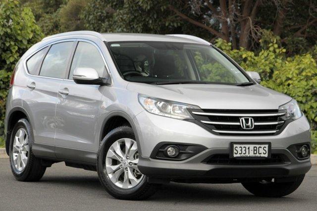 Used Honda CR-V RM MY15 VTi-S 4WD, 2014 Honda CR-V RM MY15 VTi-S 4WD Alabaster Silver 5 Speed Sports Automatic Wagon