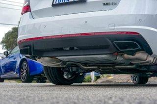 2018 Skoda Octavia NE MY18.5 RS Sedan DSG 245 Moon White 7 Speed Sports Automatic Dual Clutch